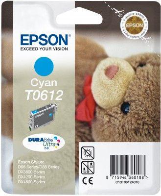 Cartus Inkjet Epson T0612 Cyan