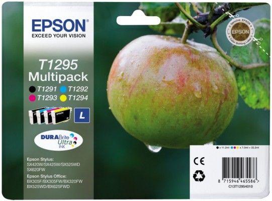Pachet Cartuse Inkjet Epson T1295 B C M Y