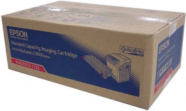 Cartus Laser Epson S051129 Magenta pentru Epson AcuLaser C3800DN / 3800DTN / 3800N