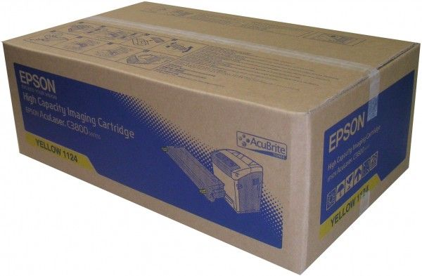 Cartus Laser Epson S051124 Yellow High Capacity