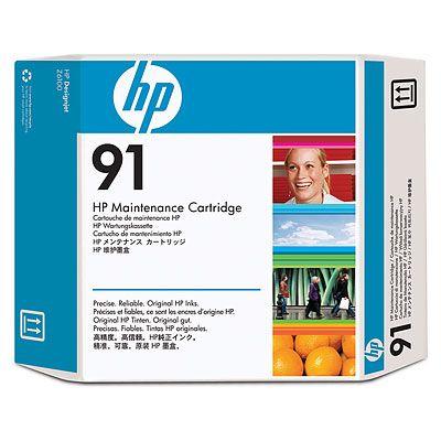 Cartus Inkjet HP 91 maintenance C9518A