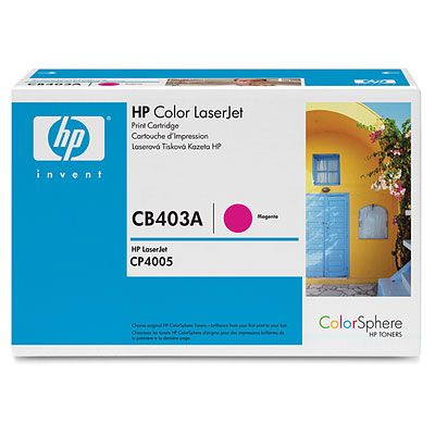 Cartus Laser HP Color magenta CB403A