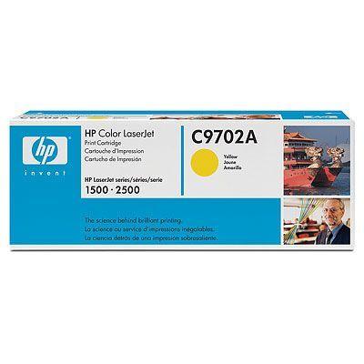Cartus Laser HP CLJ 1500 2500 yellow C9702A