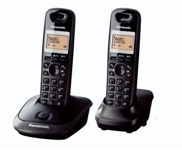 Telefon DECT Panasonic KX-TG2512FXT Negru title=Telefon DECT Panasonic KX-TG2512FXT Negru