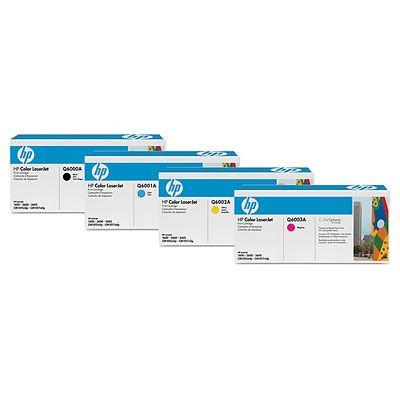 Cartus Laser HP 2600 cyan Q6001A