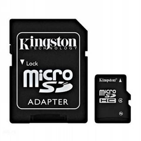 Card Memorie Kingston microSDHC 32GB Clasa 4