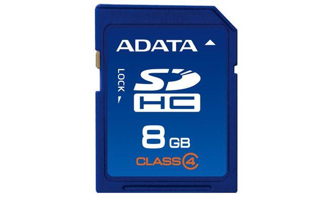 Card Memorie A-Data SDHC 8GB Clasa 4