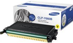 Cartus Laser SAMSUNG CLP-Y660B Yellow