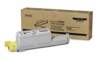 Cartus Laser Phaser 6360 Hi-Cap Xerox Yellow 106R01220