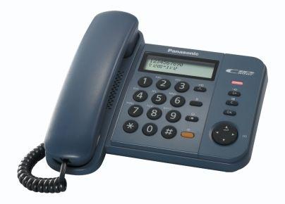 Telefon analogic Panasonic KX-TS580FXB (Negru)