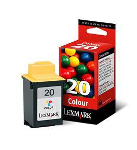 Cartus Inkjet Lexmark Color #20 / 15MX120E
