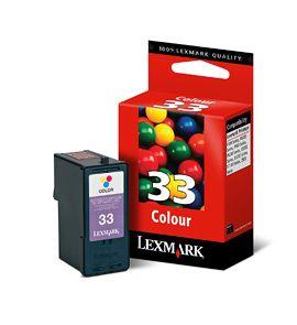 Cartus Inkjet Lexmark Color #33 / 18CX033E