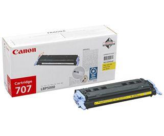 Cartus Laser Canon CRG-707 Yellow CR9421A004AA