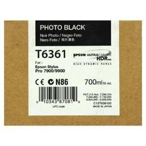 Cartus Inkjet Epson Photo Black T636100 UltraChrome HDR 700 ml
