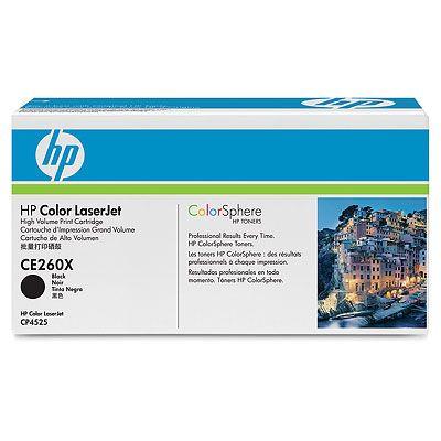 Cartus Laser HP CE260X Black