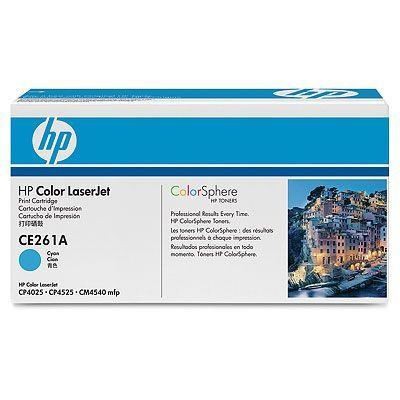 Cartus Laser HP CE261A Cyan