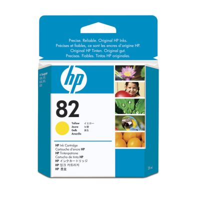 Cartus Inkjet HP 82 Yellow