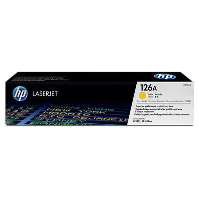 Cartus Laser HP 126A Yellow