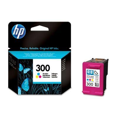 Cartus Inkjet HP 300 Tri-Color CC643EE