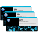 Pachet 3 Cartuse Inkjet HP Light Cyan 771C