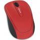 Mouse Microsoft Wireless Mobile 3500, BlueTrack, USB, Flame Red