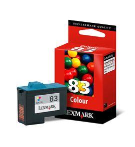 Cartus Inkjet Lexmark Color #83 / 18LX042E