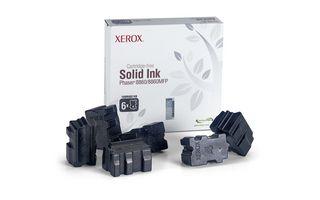 Cerneala solida Neagra (6 bucati) pentru Xerox Phaser 8860/8860MFP