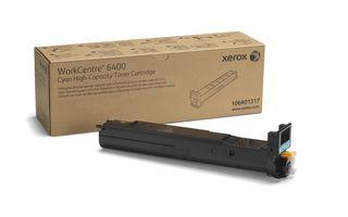 Toner Cyan de mare capacitate (14000 pag) pentru Xerox WorkCentre 6400
