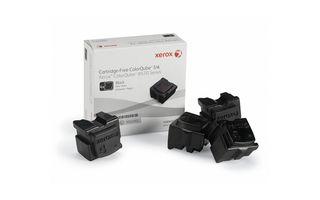 Cerneala solida Neagra (4 bucati) pentru Xerox ColorQube 8570