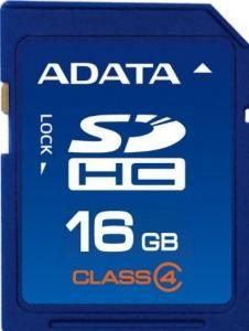 Card de Memorie A-Data 16GB SDHC Class4