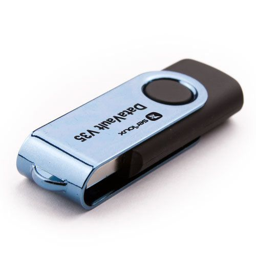 Flash Drive Serioux DataVault V35 8GB USB 2.0 negru