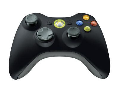 Controller Microsoft XBOX 360 Wireless JR9-00010 USB Negru