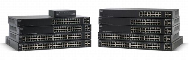 Switch Cisco SLM248GT cu management fara PoE 48x100Mbps-RJ45 + 2 x SFP