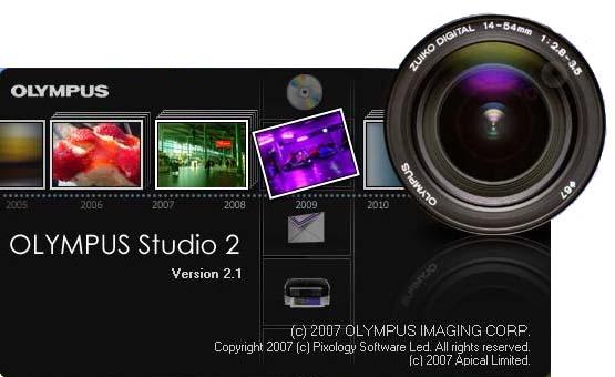 Software Profesional pentru Workflow Olympus Studio 2