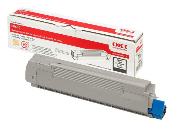 Toner Oki negru C8600 C8800