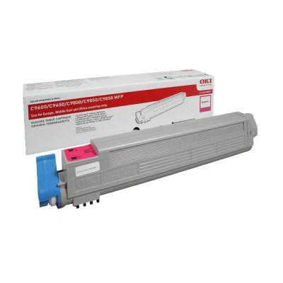Cartus Laser Oki Magenta pentru C9600/C9800 (15k)