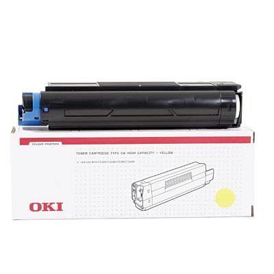 Cartus Laser Oki Yellow pentru Seria C5000
