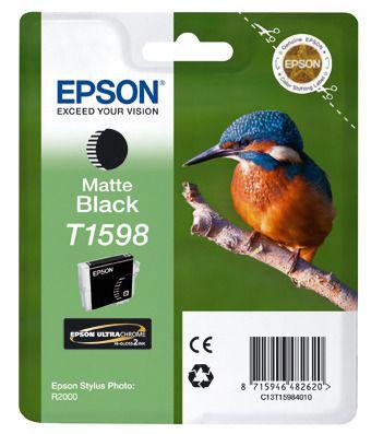 Cartus Inkjet Epson T1598 Matte Black pentru R2000