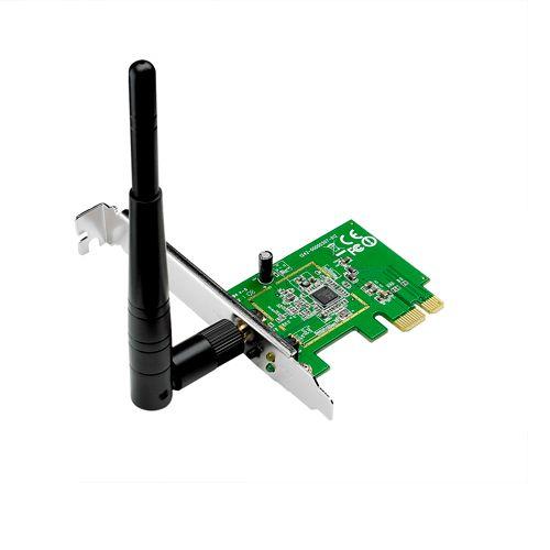 Placa de retea ASUS PCE-N10 interfata calaculator: PCI-E x1 rata de tranfer pe retea: 802.11n-150Mbps