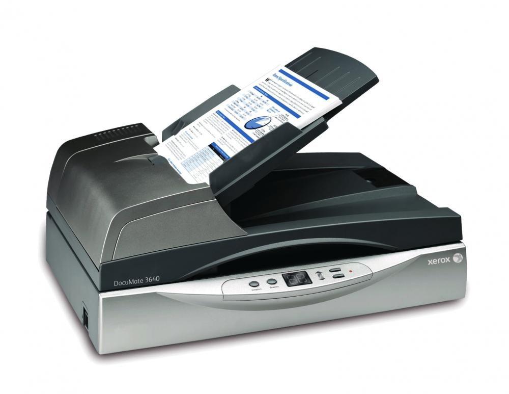 Scanner Xerox DocuMate 3640 + Kofax VRS