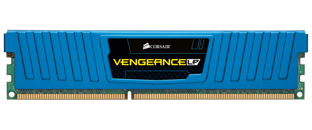 Memorie Desktop Corsair Vengeance Low Profile Blue DDR3-1600 8GB (2x4GB)