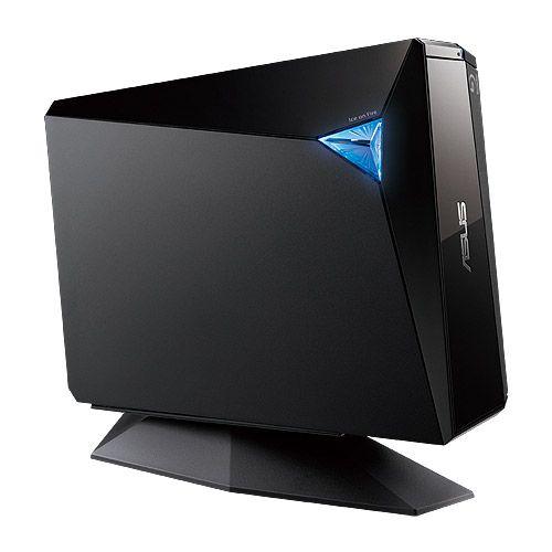Blu-Ray Writer extern Asus BW-12D1S-U USB 3.0 negru