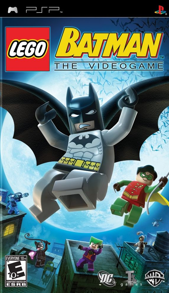LEGO Batman - The Videogame PSP