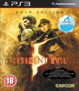 Resident Evil 5 Gold Move Edition PS3 title=Resident Evil 5 Gold Move Edition PS3