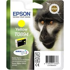 Cartus Inkjet Epson Yellow T0894