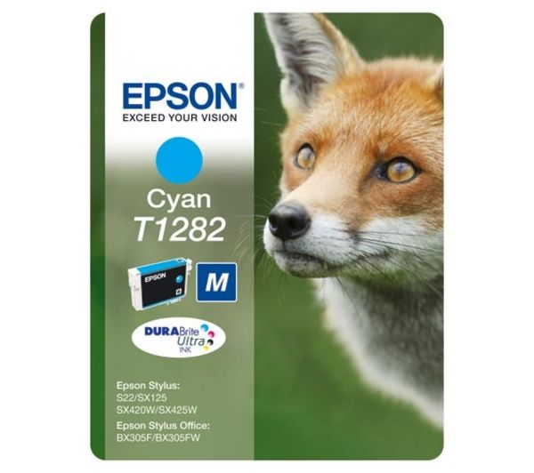 Cartus Inkjet Epson Cyan T1282 Blister