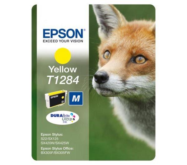 Cartus Inkjet Epson Yellow T1284 Blister