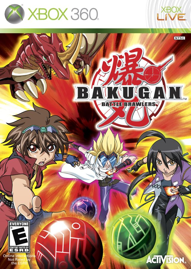Bakugan Battle Brawlers (Xbox360)