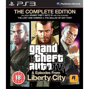Grand Theft Auto IV: Complete Edition PS3