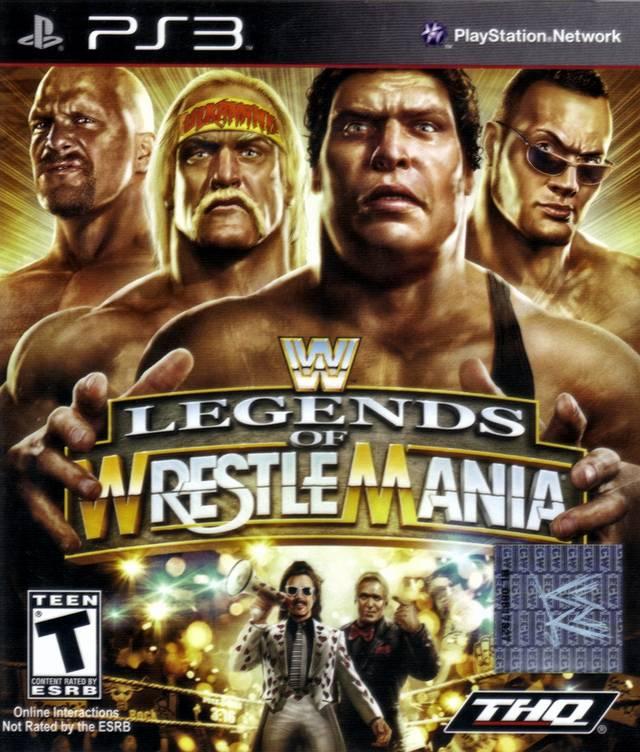Legends of Wrestlemania (PS3)